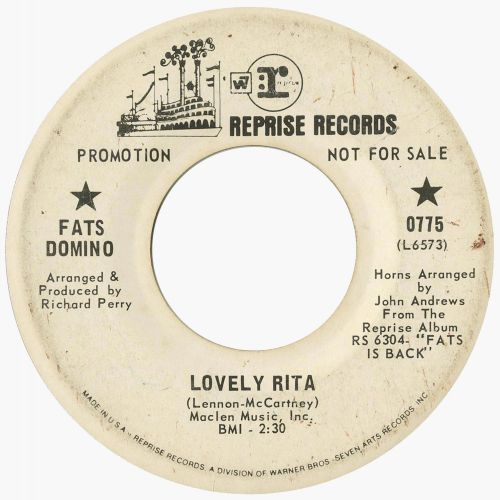 Fats Domino 'Lovely Rita'