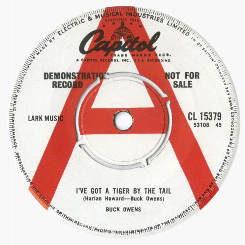 Buck Owens 'I've Got A Tiger By The Tail'