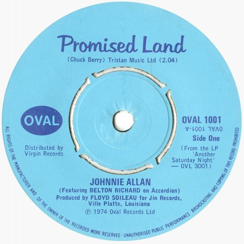 Johnnie Allan 'The Promised Land'