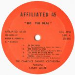 "Clarence Daniels Orchestra ""Do the Deal"" (LP label)"