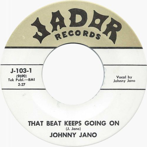 Johnny Jano 'That Beat Keeps Going On'