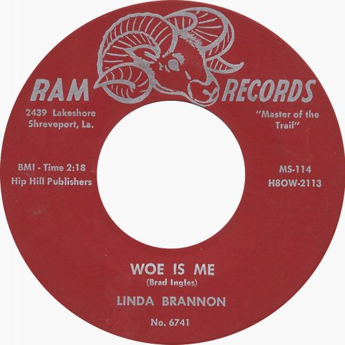 Linda Brannon 'Woe Is Me'