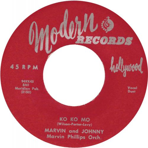 Marvin & Johnny 'Ko Ko Mo'