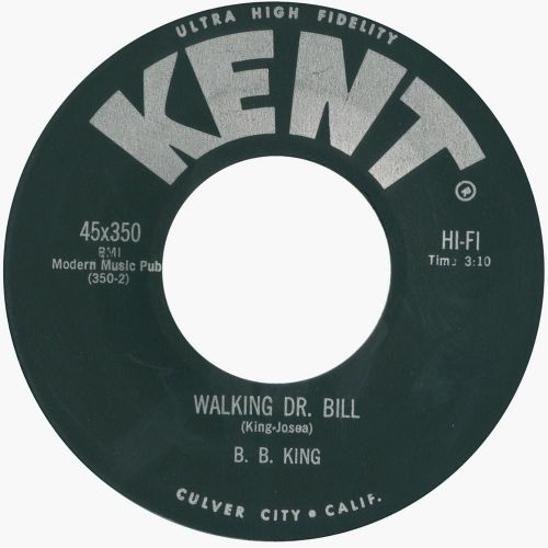 Walking Dr. Bill by B. B. King
