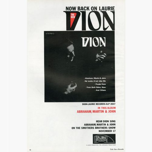 Dion advert
