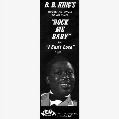 B.B. King advert courtesy of Ace Records Ltd
