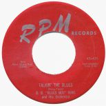 Talkin' The Blues single label