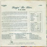 Singin' The Blues back cover