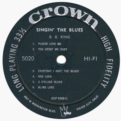 Singin' The Blues side 1
