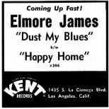 Elmore James advert