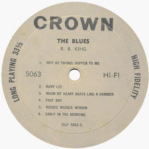 The Blues LP side 1