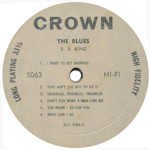 The Blues LP side 2