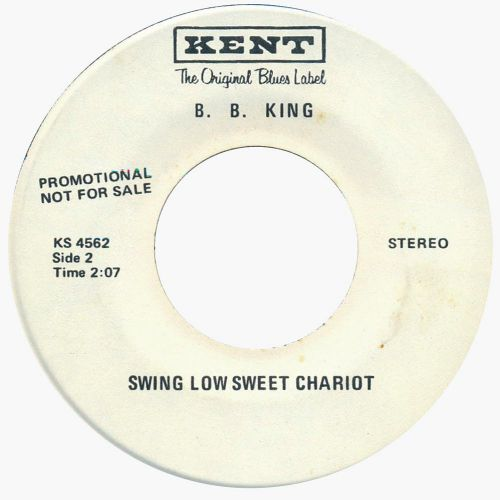 Swing Low Sweet Chariot single label