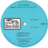 'Sweet Giant Of The Blues' LP Label