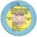 'Every Day I Have The Blues' LP Label
