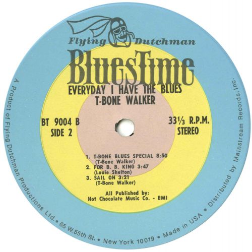 Every Day I Have The Blues LP label 2