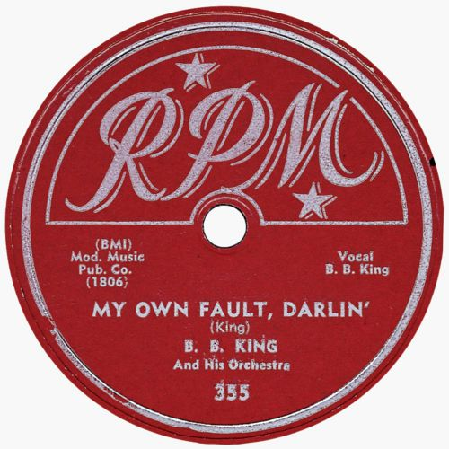 B.B. King 'My Own Fault, Darlin''