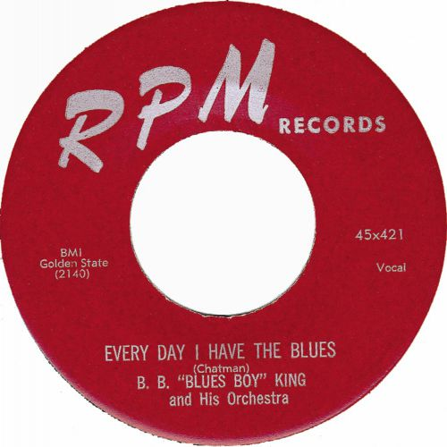 "Every Day I Have The Blues by B. B. ""Blues Boy"" King and His Orchestra"