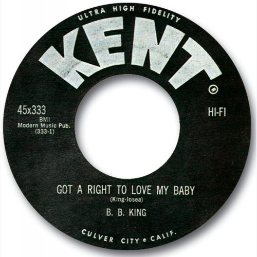 Got A Right To Love My Baby by B. B. King