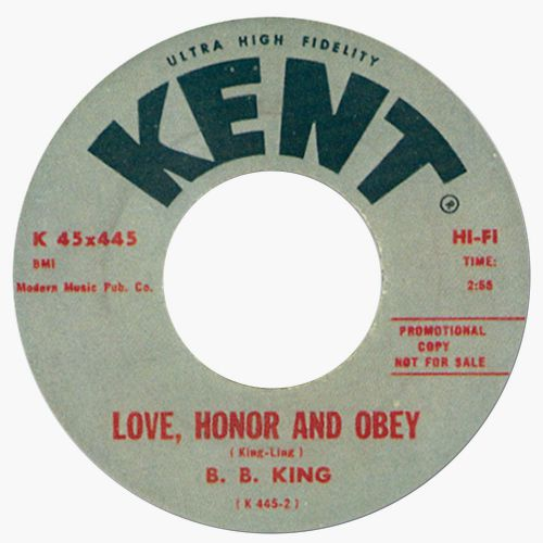 Love, Honor and Obey by B. B. King