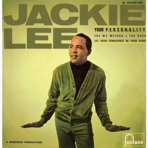 Jackie Lee 'Your P-E-R-S-O-N-A-L-I-T-Y