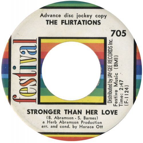 The Flirtations 'Stronger Than Her Love' courtesy of Mick Smith