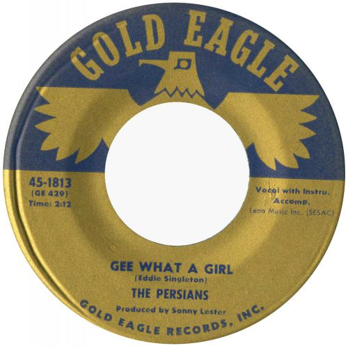 The Persians 'Gee, What A Girl' courtesy of Ady Croasdell