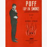 Kenny Lynch 'Puff (Up In Smoke)' songsheet courtesy of Ady Croasdell