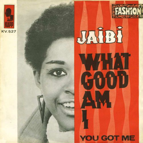 Jaibi 'What Good Am I?' courtesy of Gilles Petard