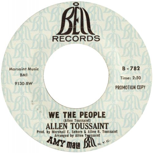 Allen Toussaint 'We The People'