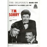 The Delfonics 'I'm Sorry' advert