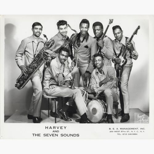 Harvey & the Seven Sounds courtesy of Ady Croasdell