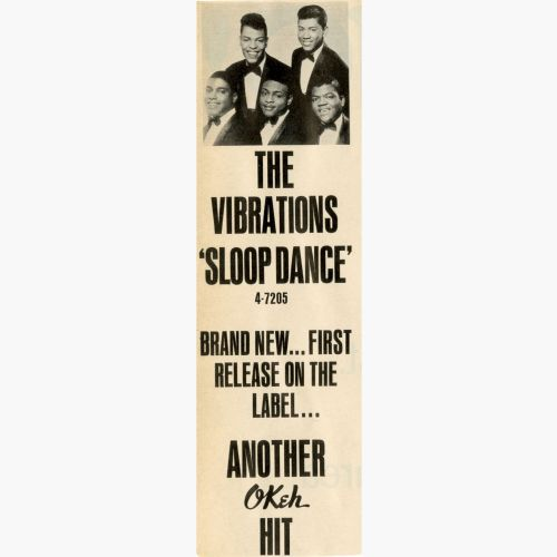 The Vibrations advert courtesy of Bill Millar