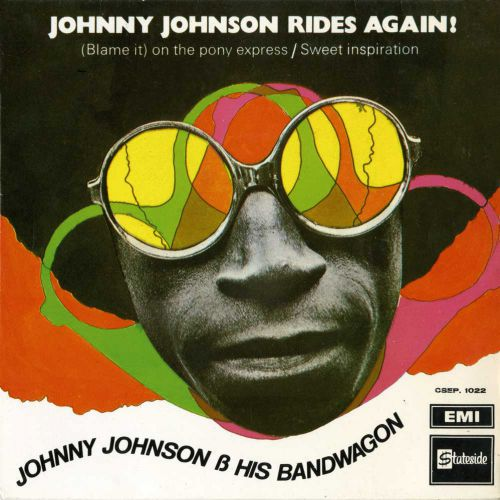 Johnny Johnson & His Bandwagon 'Johnny Johnson Rides Again!' courtesy of Vicki Fox