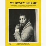 Luther Ingram 'My Honey And Me' songsheet courtesy of Tony Rounce