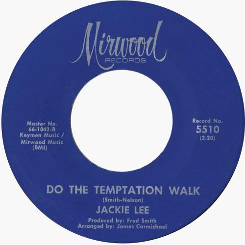 Jackie Lee 'Do The Temptation Walk' courtesy of Simon White