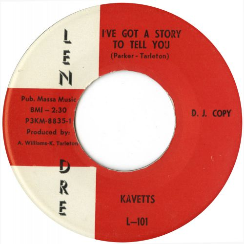 The Kavetts 'I've Got A Story To Tell You' courtesy of Tony Rounce