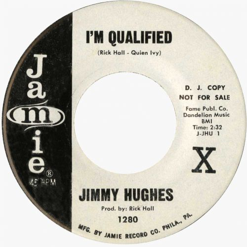 Jimmy Hughes 'I'm Qualified' courtesy of Tony Rounce