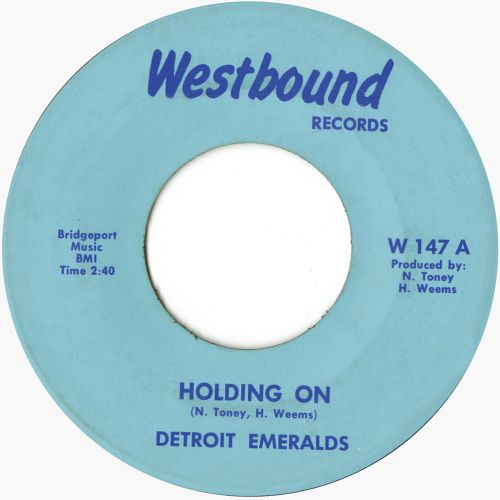 The Detroit Emeralds 'Holding On' courtesy of Tony Rounce