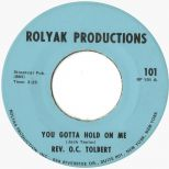 O.C. Tolbert 'You Gotta Hold On Me' courtesy of Ady Croasdell