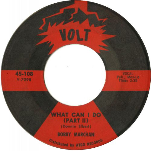 Bobby Marchan 'What Can I Do (Pt 2)' courtesy of Peter Gibbon