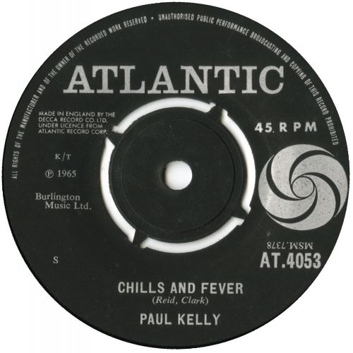 Paul Kelly 'Chills And Fever' courtesy of Tony Rounce