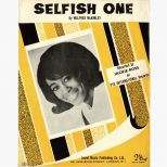 'Selfish One' song sheet