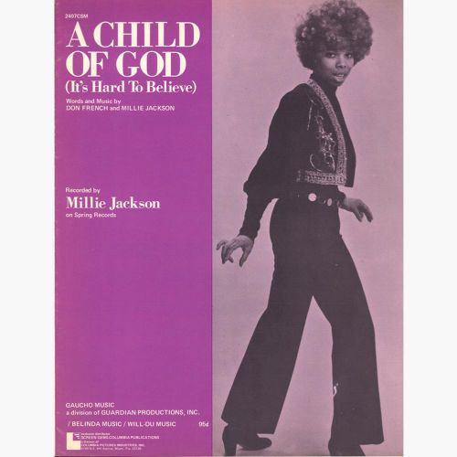 Millie Jackson 'A Child Of God (It's Hard To Believe)'