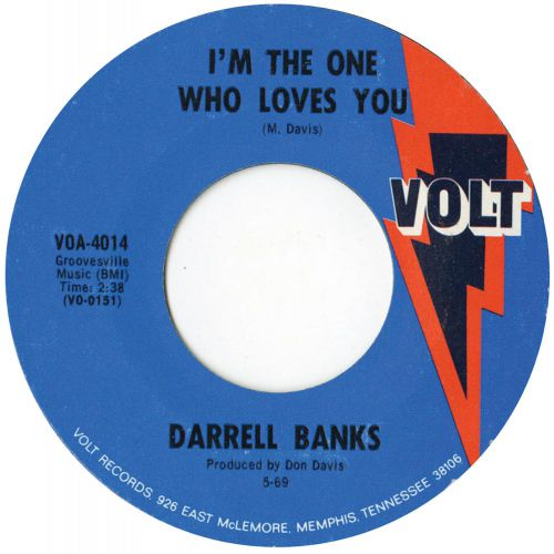 I'm The One Who Loves You single label