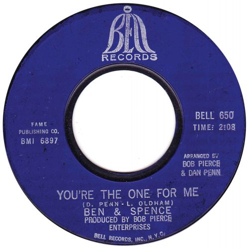 Ben & Spence 'You're The One For Me'