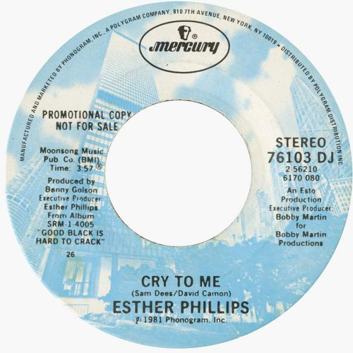 Esther Phillips 'Cry To Me'
