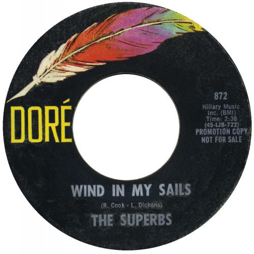 The Superbs 'Wind In My Sails'
