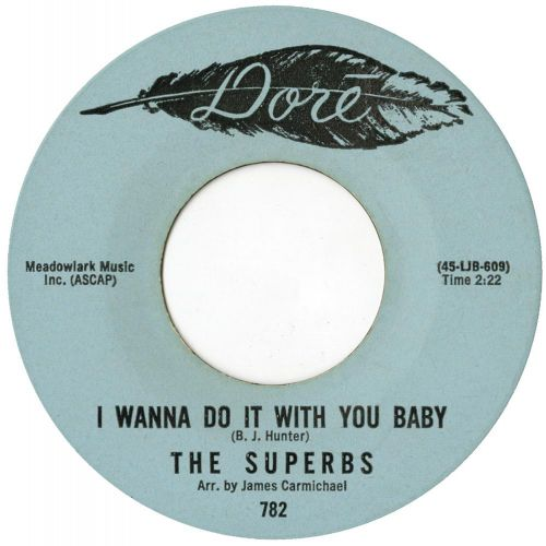 The Superbs 'I Wanna Do It With You Baby'