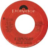 Millie Jackson 'If You're Not Back In Love By Monday'